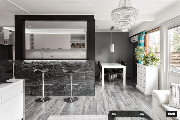 Tyylikäs koti Kivimäen pientaloalueella - Kukintie 12C C