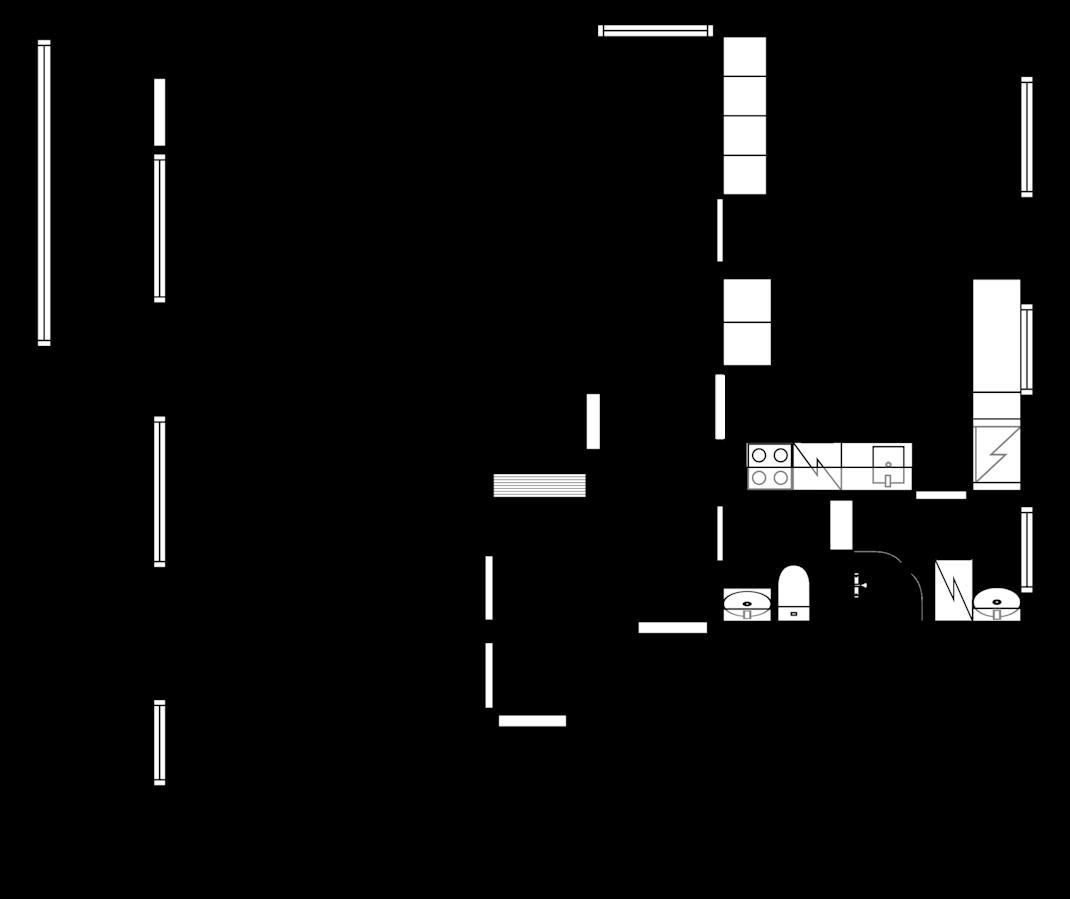 Tyylikäs kerrostalo asunto Lempäälässä Pohjakuva