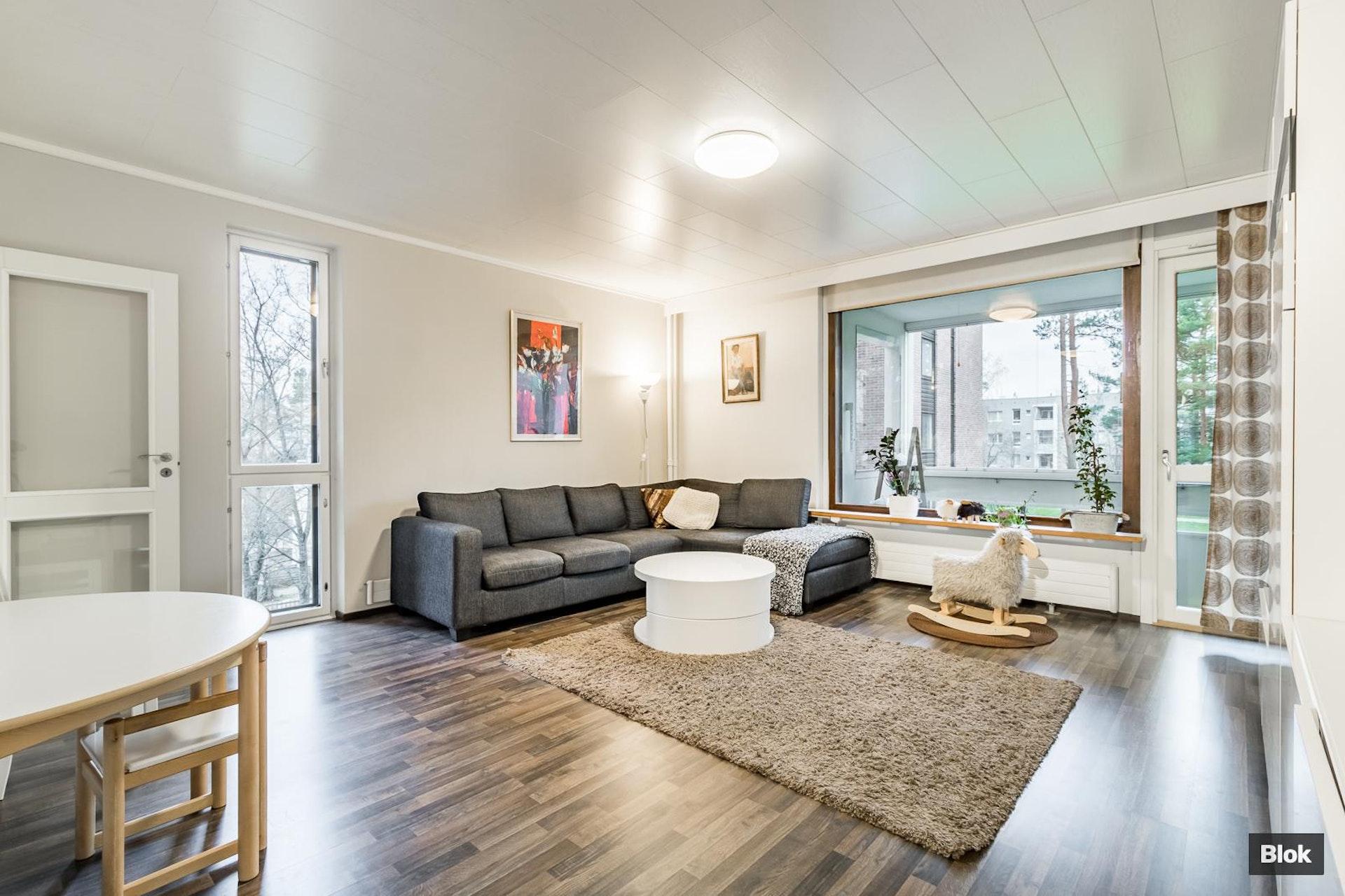 Käytännöllinen ja hyväpohjainen asunto Soukassa