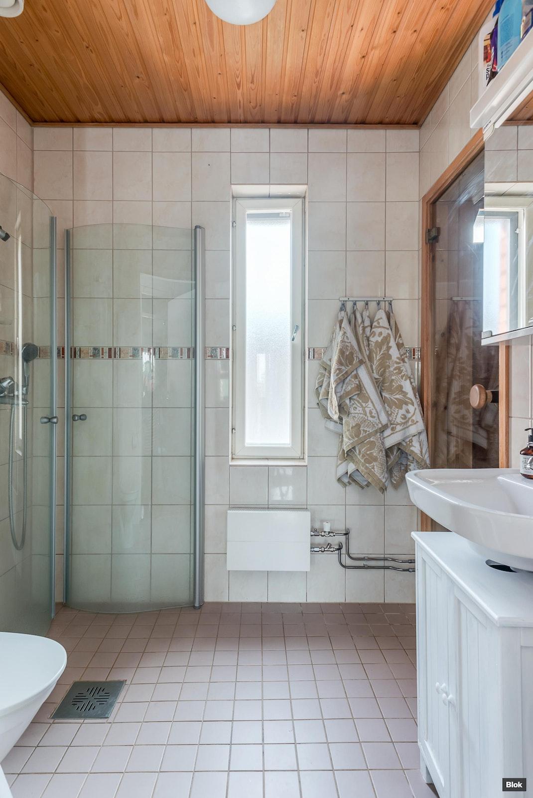 Varustuksentie 11 i 27 Kylpyhuone & Sauna & Erillinen WC