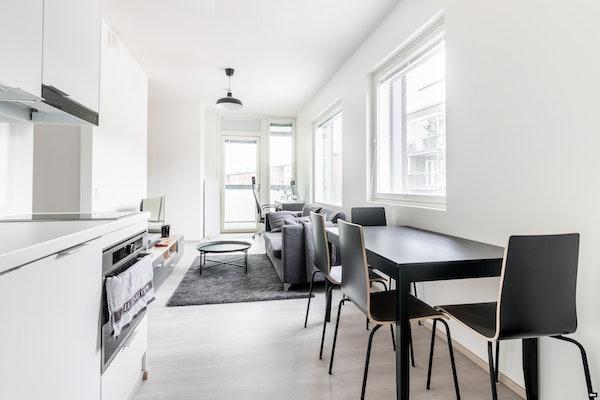Tyylikäs alkovillinen yksiö 2018 valmistuneessa talossa Saunalahdessa - Kummelivuorentie 15  A 22