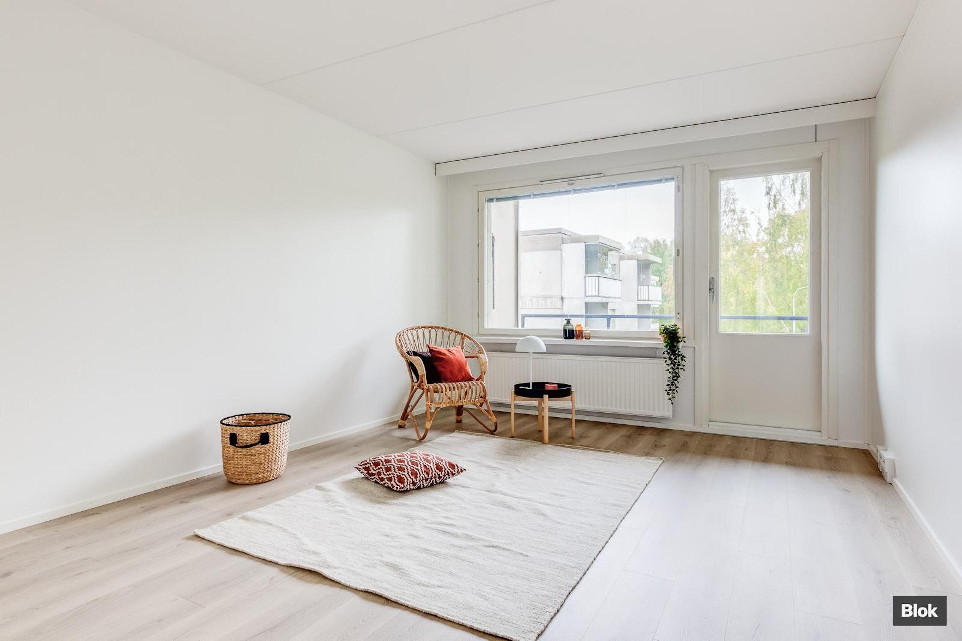 Hyväpohjainen kolmio Oulunkylästä