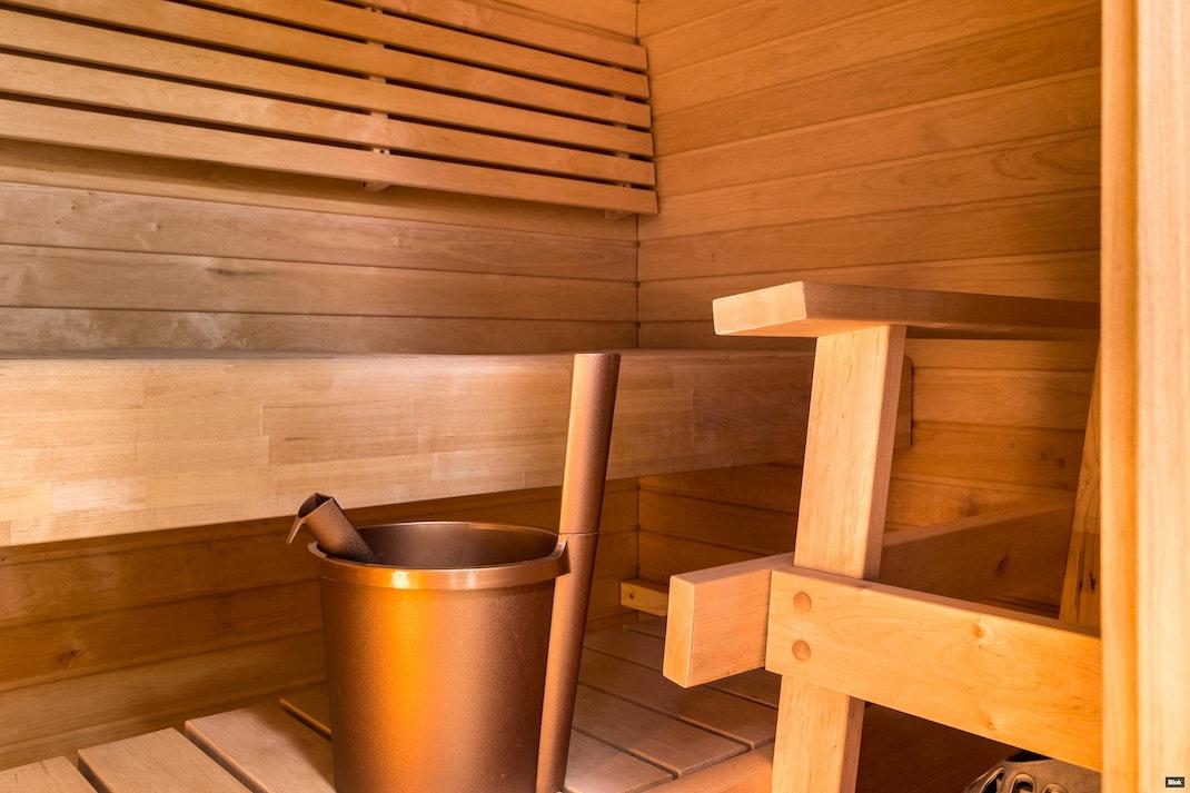 Sahakuja 2 B 8 Kylpyhuone & Sauna & Erillinen WC