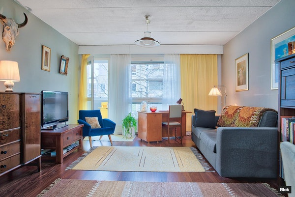 Kodikas kaksio Helsingin Meri-Rastilassa - Harustie 1  D 35