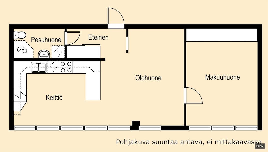 Blok ― Hietalahdenkatu 22 B 10, Hietalahti Vaasa