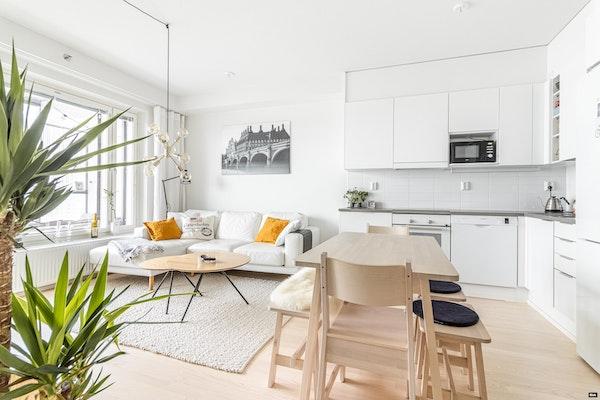 Upea moderni kaksio, 2018 lopussa valmistuneen talon 11. kerroksessa Matinkylässä - Pyyntitie 1  A 114