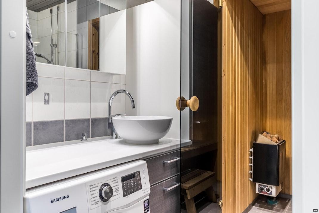 Pallotie 48 D Kylpyhuone & Sauna & Erillinen WC