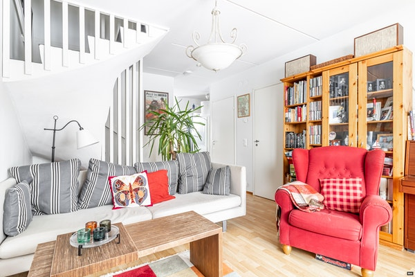 Kodikas kolmen makuuhuoneen asunto, puurivitalossa Ruununmyllyllä - Ruununmyllyntie 30  A2