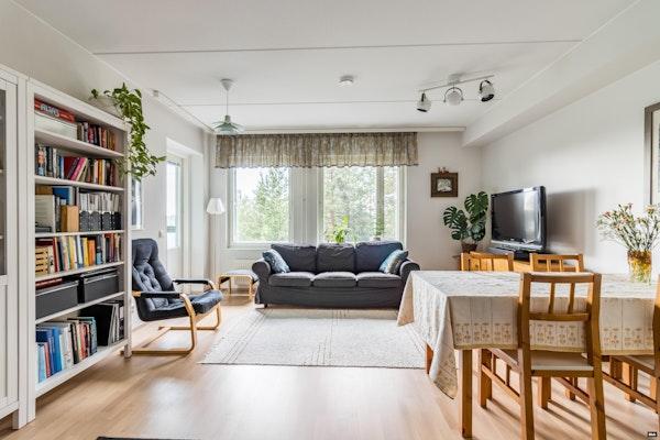 Iso kaksio 2014 valmistuneessa talossa Myyrmäessä - Kilterinrinne 5 A