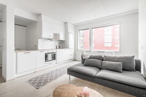 Fiksupohjainen kaksio 2019 valmistuneessa talossa Keimolassa - Keimolankaarre 3  B 61