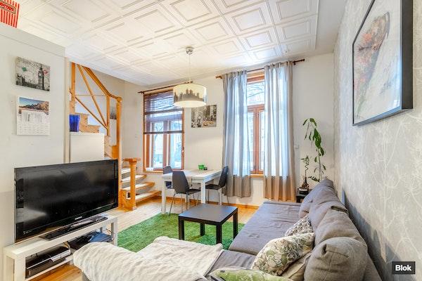 Kaksikerroksinen koti kauniissa puutalossa - Puistokatu 20 B 7