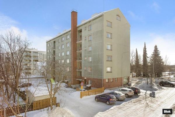Iso remontoitu kaksio Mäki-Matissa - Voionmaankatu 24 A11