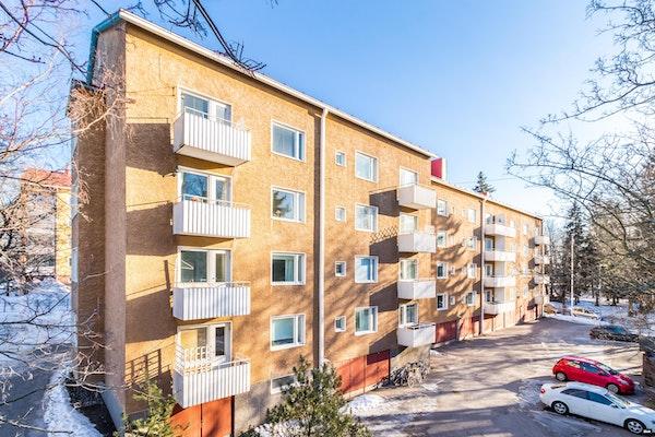 Muuttovalmis valoisa kaksio Lauttasaaressa - Puistokaari 15   B 21