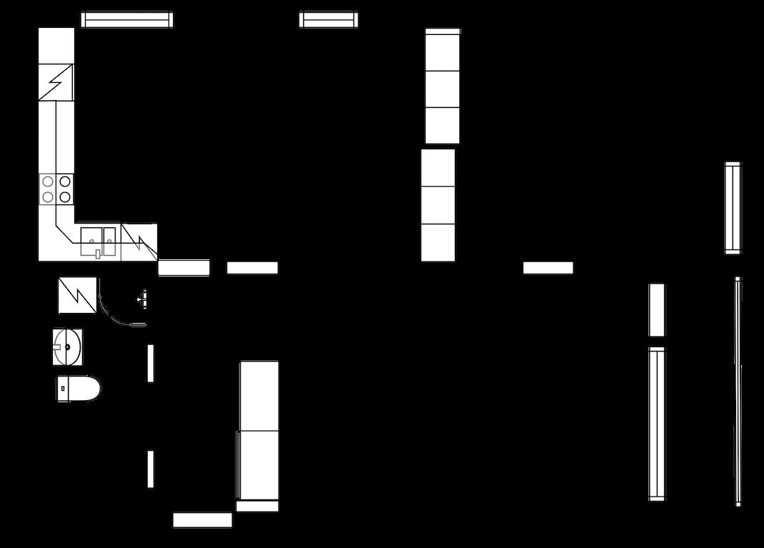 Siisti kolmio Lahden Hörölässä Pohjakuva