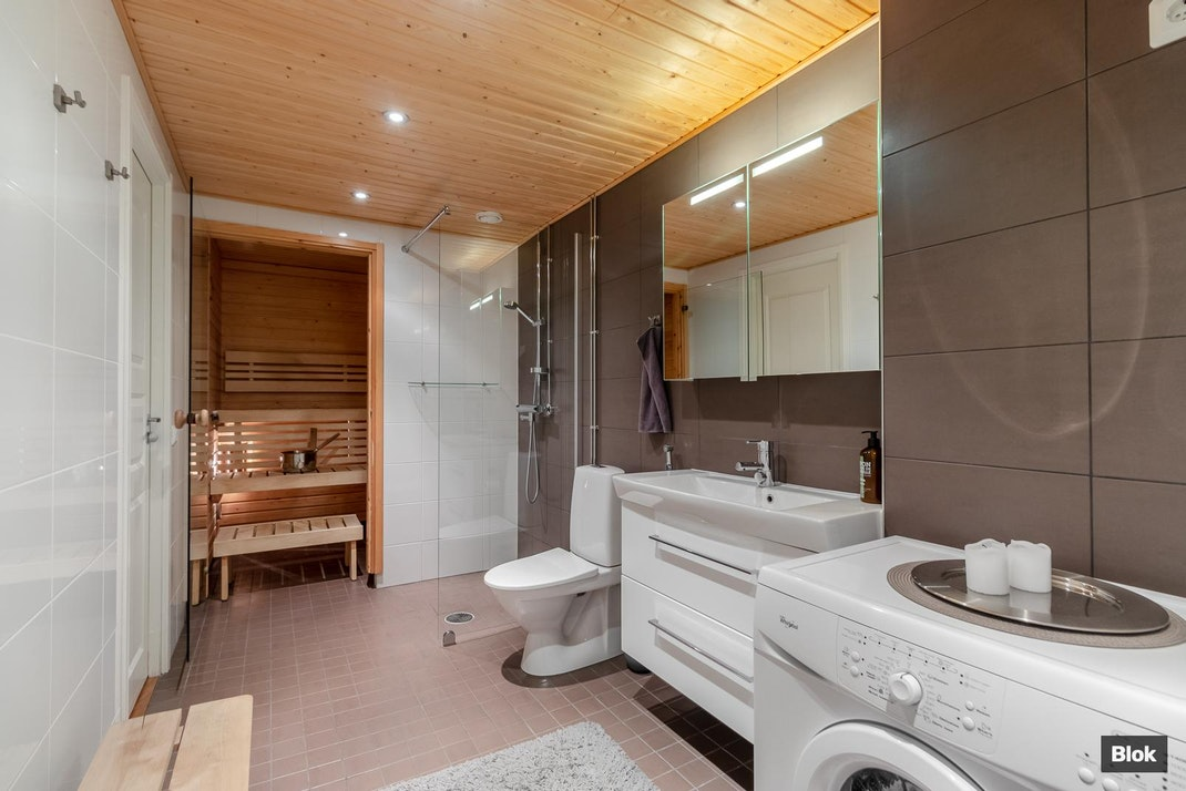 Sahanmäenkuja 3 A 8 Kylpyhuone & Sauna
