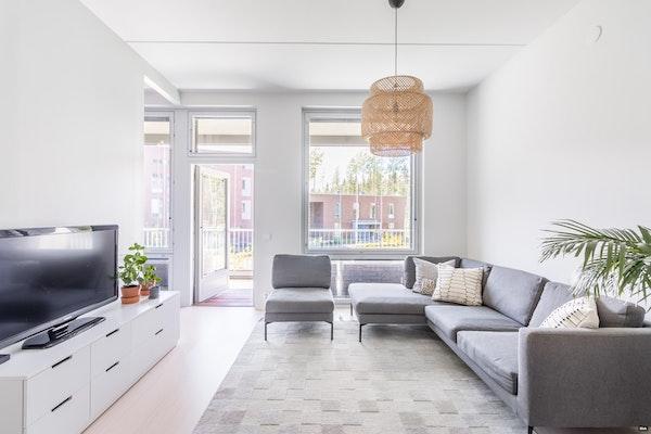 Ihastuttavan valoisa asunto upeassa 2015 valmistuneessa talossa Kivistössä - Timanttikiteenkuja 10 B 24 B24