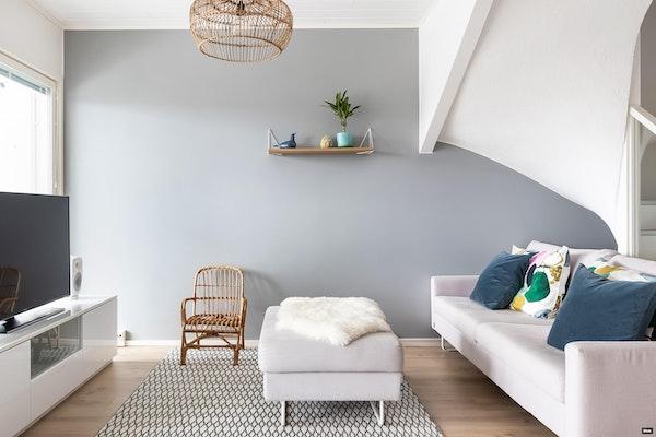 Tilava ja monipuolinen koti neljällä makuuhuoneella, 2017 valmistuneessa rivitalossa Keilanrannassa - Niilontie 13  F23