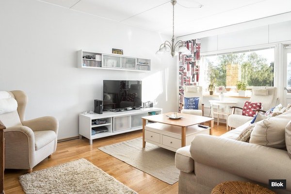 Lämminhenkinen asunto Vantaan Martinlaaksossa - Raappavuorenreuna 4 C 46 4c46