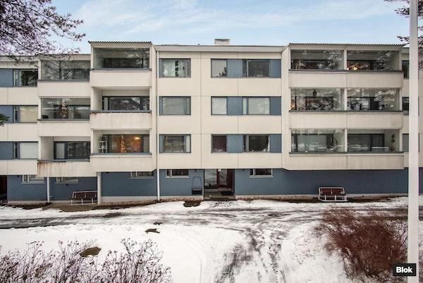 Kodikas kaksio rauhallisella Lintulan alueella Oulussa - Kaislatie 13 K 18 K 18