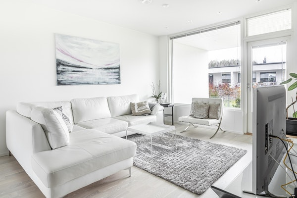 Tyylikäs ja valoisa kolmen makuuhuoneen asunto, 2018 valmistuneessa rivitalossa Hirvensalon  Haarlassa - Meritalontie 25  A 5