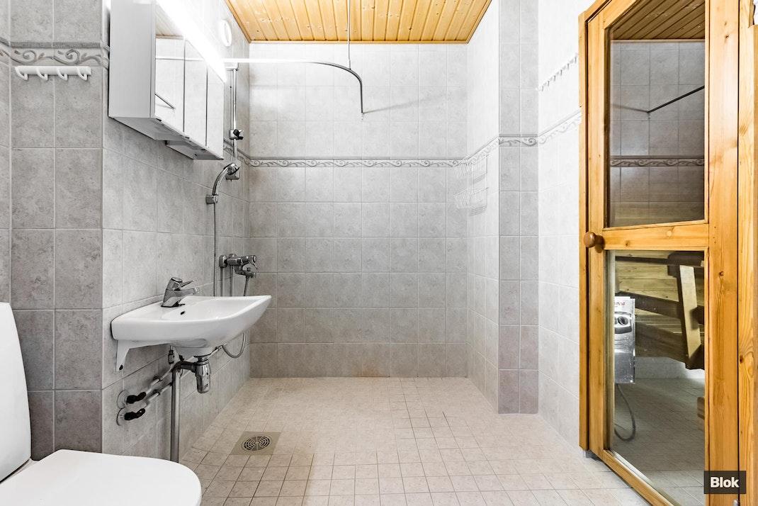 Ojavainionkatu 8 B 10 Kylpyhuone & Sauna