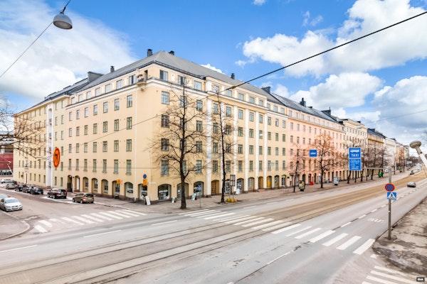 Upea koti Taka-Töölössä - Mannerheimintie 37 B 24