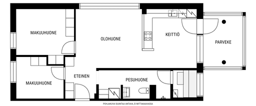 Von Daehnin katu 21 B 26