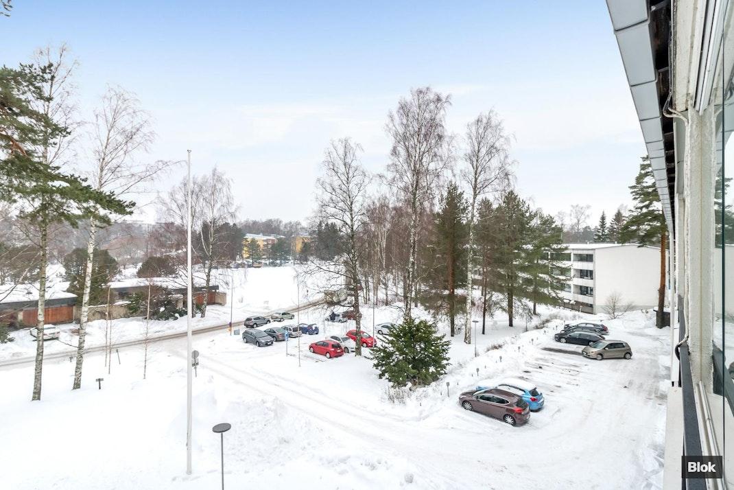 Itäranta 11 B 16 Lasitettu parveke & Julkisivu