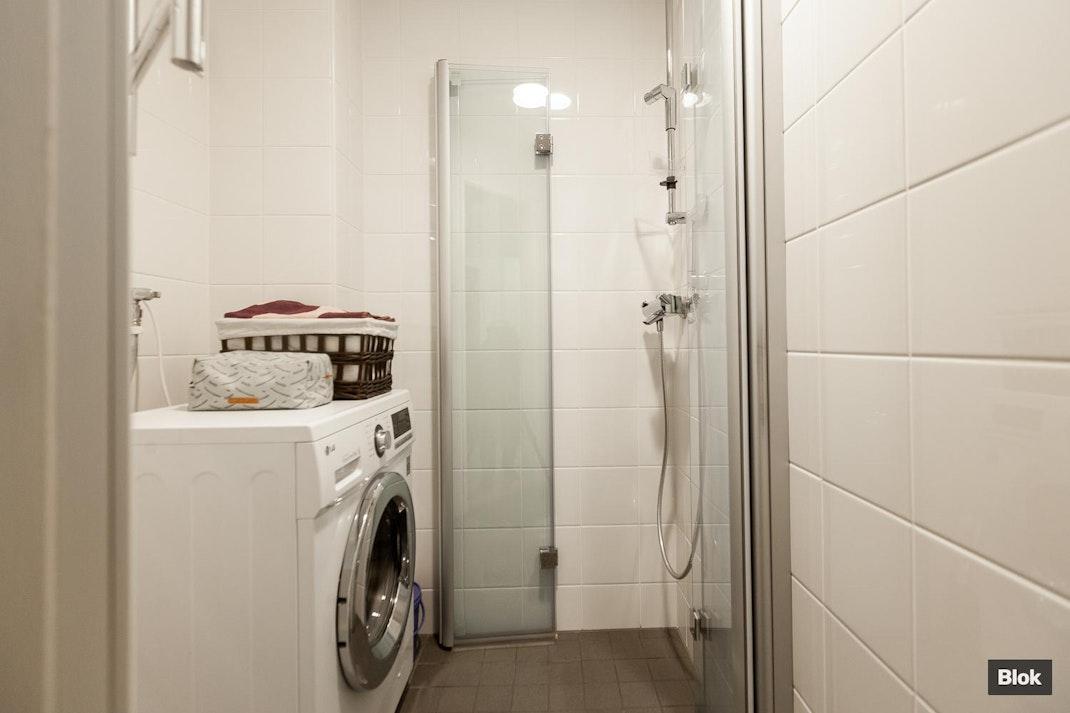 Tunturikatu 7 A 23 Kylpyhuone & Erillinen WC