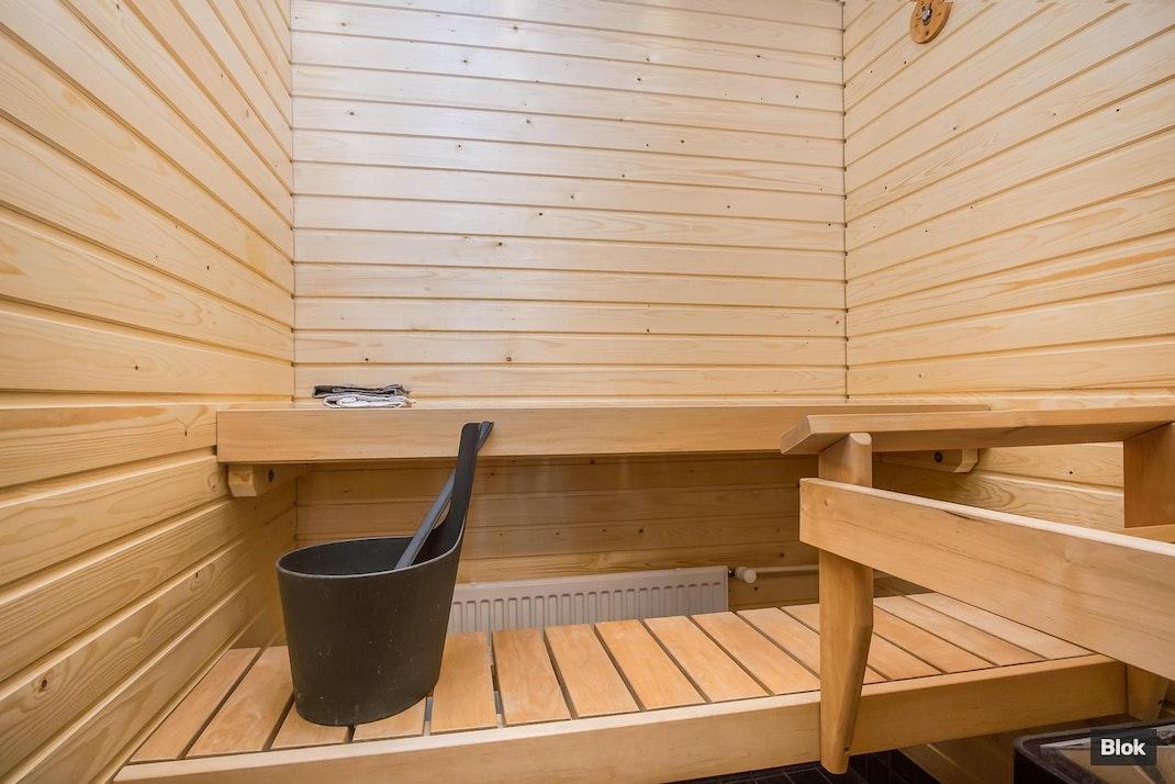 Kauppalinnankatu 1 I 34 Kylpyhuone & Sauna