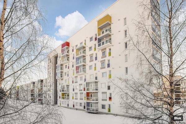 Kompakti vuokrattu kaksio Oulussa - Kauppalinnankatu 1 I 34 I 34