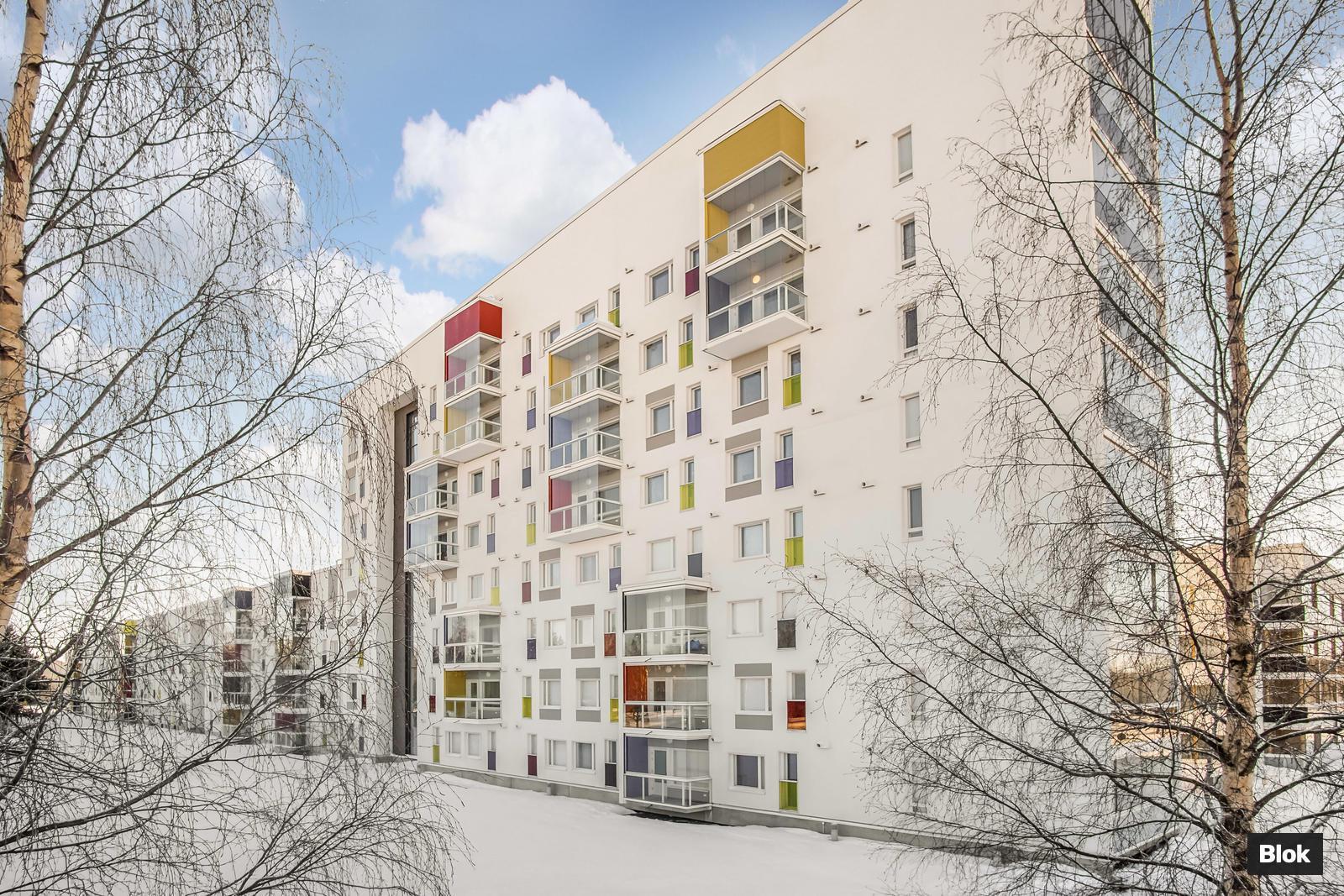 Blok Kauppalinnankatu 1 Linnanmaa Oulu