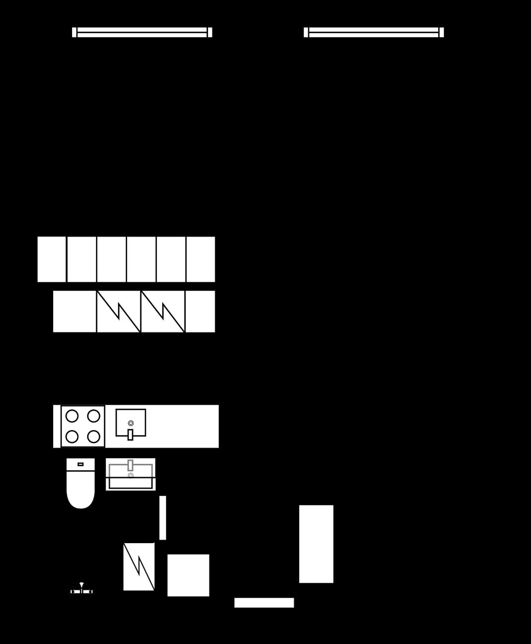 Upea ylimmän kerroksen yksiö Torkkelinmäellä Pohjakuva
