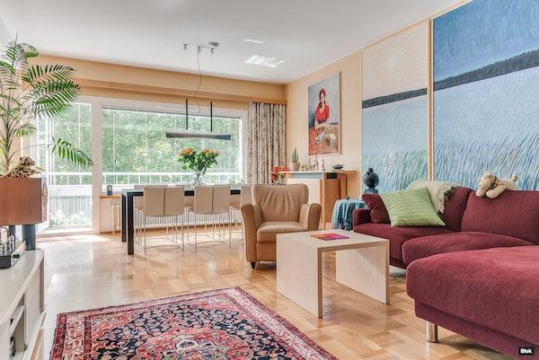 Valoisa asunto Helsingin Munkkiniemessä - Riihitie 4  A 9