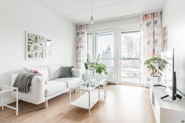 Tyylikäs kaksio 2019 valmistuneessa talossa Mankkaalla - Klovinportti 2  B 31
