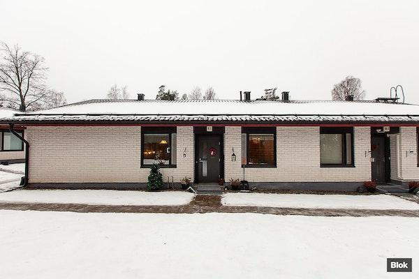 Kahden makuuhuoneen rivitaloasunto Lansassa - Magnus Enckellin kuja 2-4 B 1