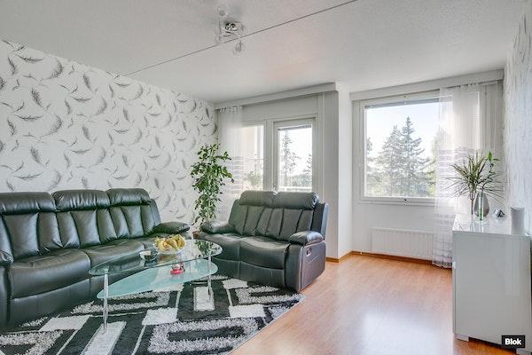 Valoisa, läpitalon asunto Tampereella - Kohmankaari 14 B23