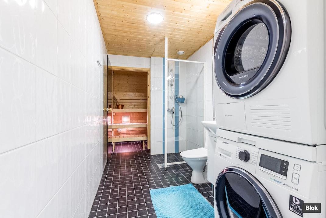 Valmetinkatu 2 A 4 Kylpyhuone & Sauna