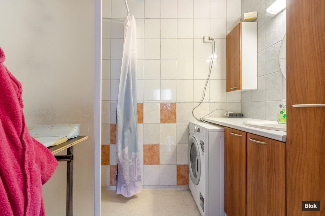 Raadinkatu 1 C 98 Kylpyhuone & Erillinen WC
