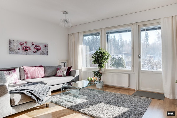 Siistikuntoinen, valoisa rivitalokoti Vantaalla - Päiväkummuntie 8 G14 G 14