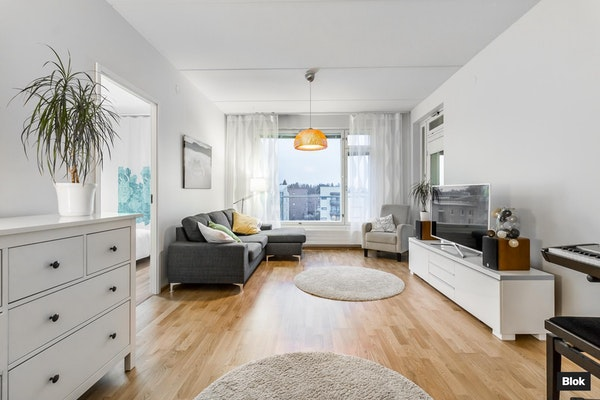 Tyylikäs ja siisti koti Leppävaarassa - Sokerilinnantie 1  B 47