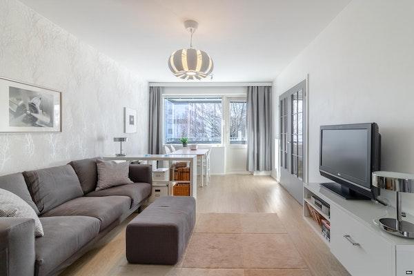 Moderni ja tyylikäs kahden makuuhuoneen asunto - Vuorikatu 7 a B 28 B28