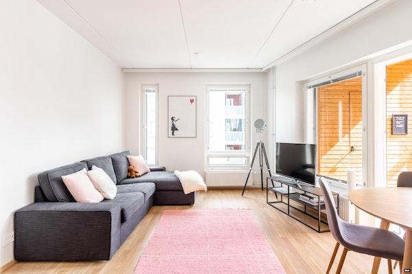 Tyylikkään moderni kaksio uudessa talossa Leinelässä - Leinelänkaari 21  A 15