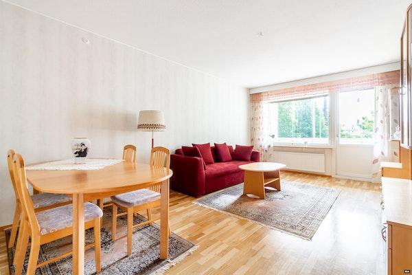 Fiksupohjainen kaksio kattavasti remontoidussa taloyhtiössä Tammelassa - Kullervonkatu 1-3  E 99