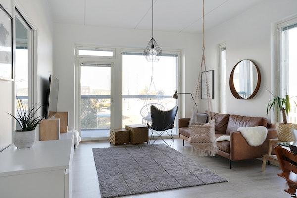 Moderni kolmio Härmälänrannassa - Niilo Härmälän katu 9  A 56