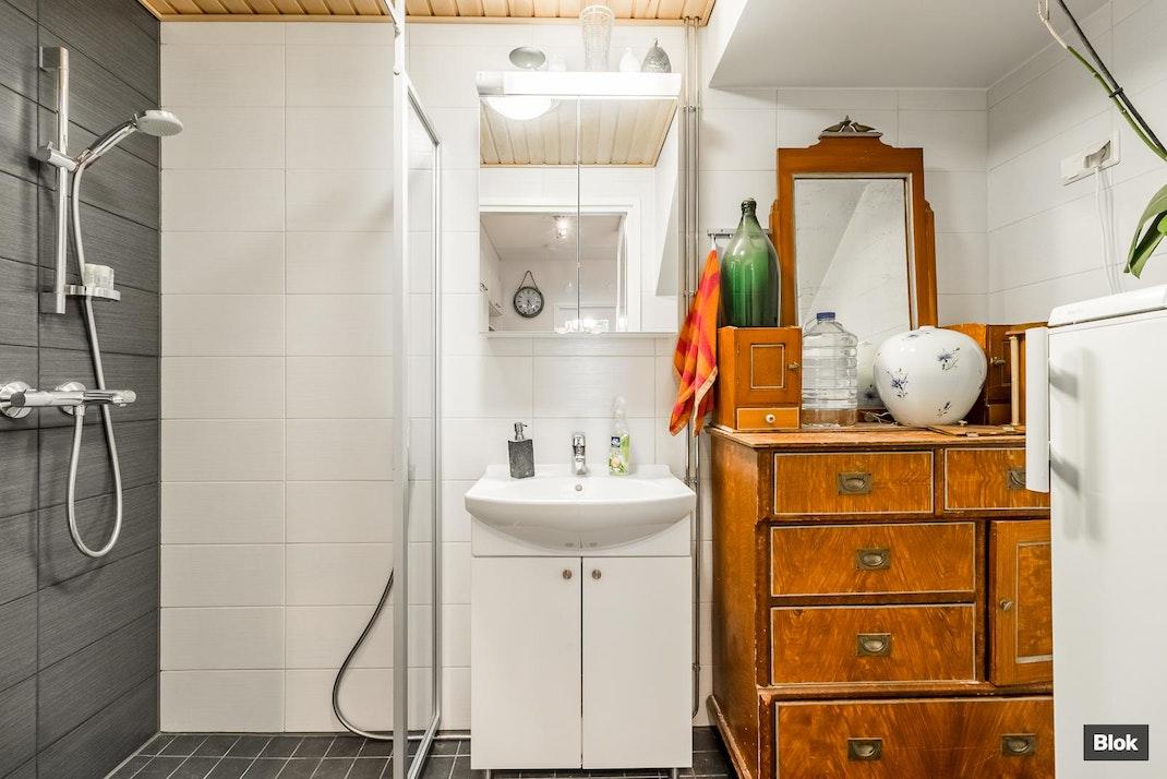 Mamsellimyllynkatu 24 G 14 Kylpyhuoneet & Kodinhoitohuone & Sauna