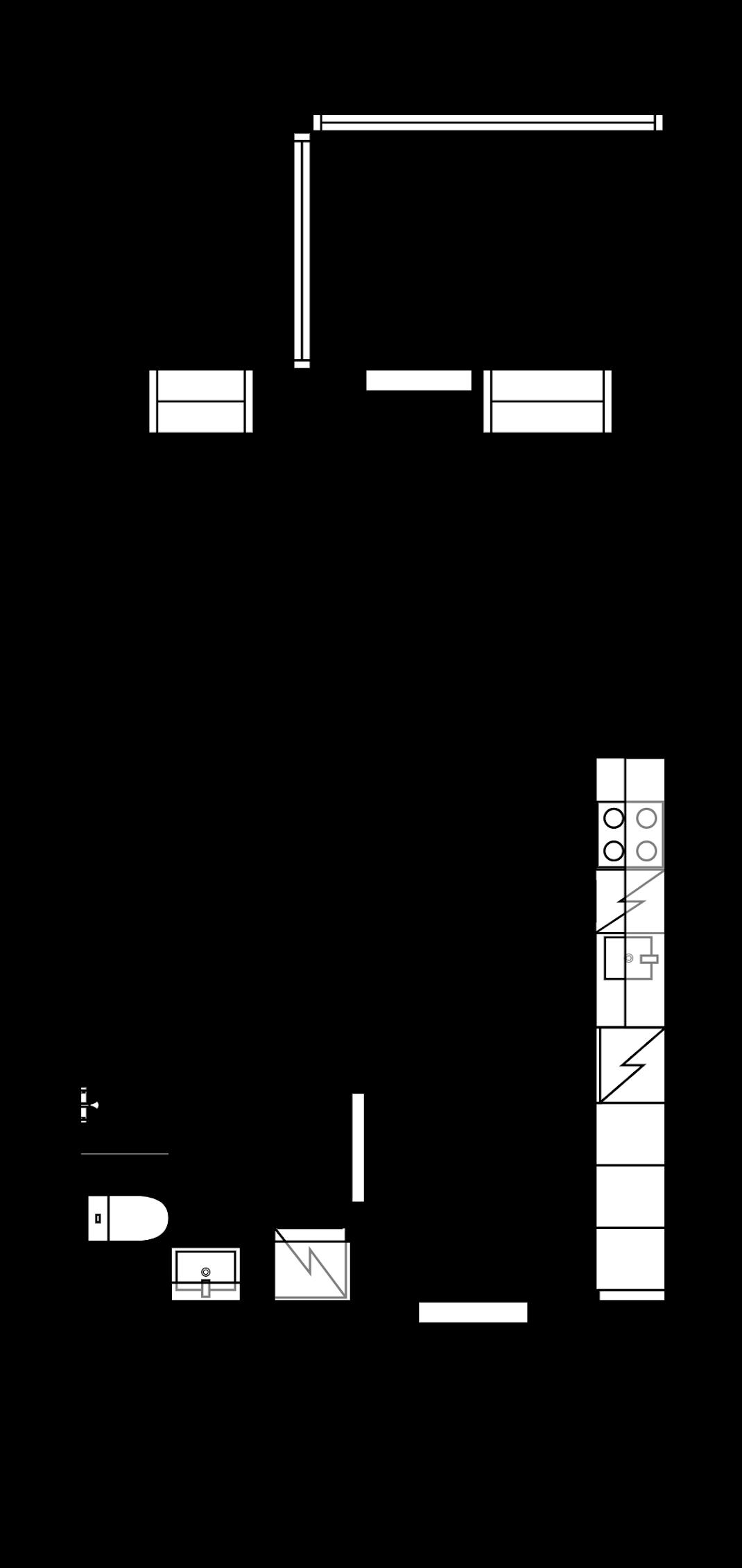 Uudenkarhea yksiö yhdeksännessä kerroksessa Pohjakuva