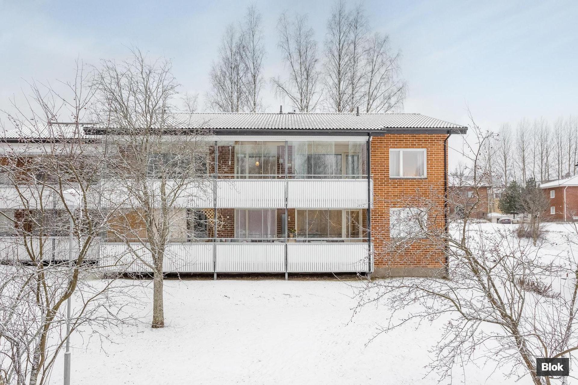 Valoisa ja muuttovalmis koti Jyväskylän Taulumäellä