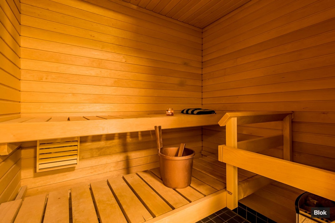 Gunillantie 18 Kylpyhuone & Sauna