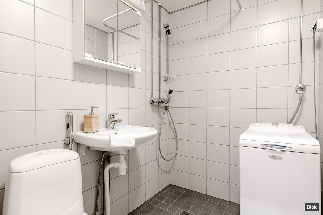 Ylännekatu 16 B 15 Kylpyhuone